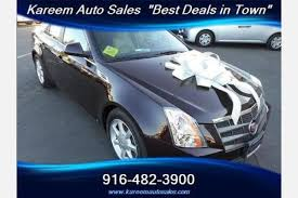 cadillac cts used for sale used cadillac cts for sale in sacramento ca edmunds