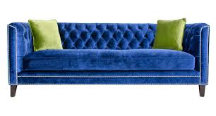 Blue Tufted Sofa by Tufted Sofas Canada Tehranmix Decoration