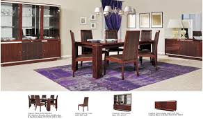 status caprice dining room set in walnut free shipping get