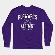 hogwarts alumni tshirt hogwarts alumni white harry potter sleeve t shirt teepublic