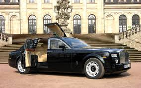 black rolls royce widescreen rolls royce phantom most expensive supercars pictures