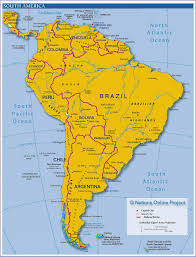 Topographical Map Of South America by South American Cuisine The Food Culture In South America Hubpages