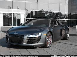 Audi R8 Matte - audi introduces r8 exclusive selection editions for 2012