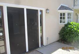 Screen Patio Repair Door Sensational Patio Screen Door Track Repair Engrossing Patio