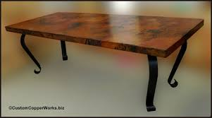 stunning copper dining room table ideas rugoingmyway us