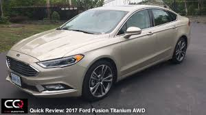 who designed the ford fusion 2017 ford fusion titanium awd review