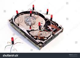 Harddisk Vira Drive Disk Disk Virus Stock Photo 234809269