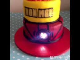 iron man cake youtube
