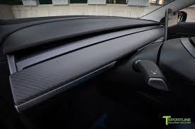 tesla model 3 carbon fiber interior accessories u2013 tsportline com