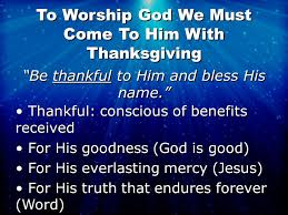psalm 100 worship deals with our attitude toward god psalm 100