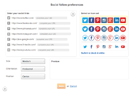 email instagram support adding your social links email marketing help