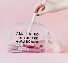 try this diy clear makeup bag u2013 a beautiful mess