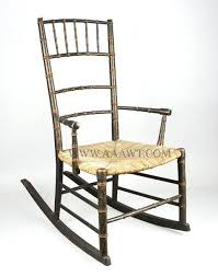 Bamboo Rocking Chair Bamboo Rocking Chair Rocking Chair Original Paint Decoration And