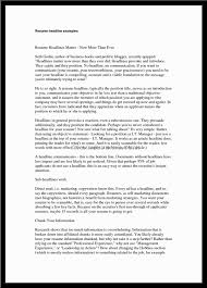 Best Customer Service Manager Resume by What Should Be The Resume Headline Free Resume Example And
