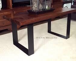 Flat Bar Table Legs Iron Table Legs Etsy