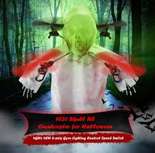 1031 halloween horrible creepy toothy flying ghost head skull