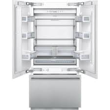 Stainless Steel Refrigerator French Door Bottom Freezer - t36bt820ns thermador freedom 36
