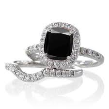 Wedding Rings Sets For Women by Best 25 Black Wedding Ring Sets Ideas On Pinterest Black