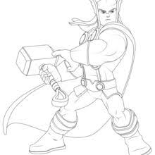 thor coloring pages hellokids