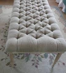tufted end of bed bench foter