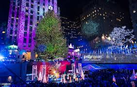 82nd annual rockefeller tree lighting ceremony photos