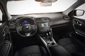 renault kadjar interior 2016 renault kadjar gets new 163bhp engine and cvt gearbox option autocar