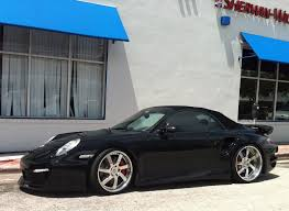 porsche 911 custom black porche 911 turbo s with custom rims exotic cars on the