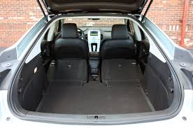 Dodge Journey Cargo Space - trunk space
