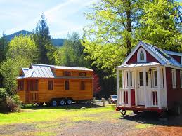Tumbleweed Tiny Houses by Try Out Tiny House Living In Oregon U0027s New Micro Home Resort In Mt