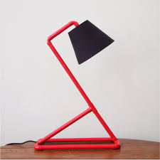 Red Desk Lamp by Coloured Mini Red Desk Lamp Pvc Tubing Lighting