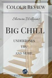 colour review sherwin williams big chill is a big deal