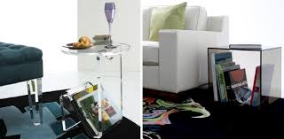 Clear Acrylic Desk Table Maximize Your Space With Acrylic Furniture