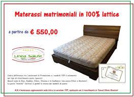 offerta materasso lattice offerte materassi lattice pagina delle occasioni