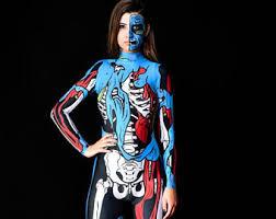 skeleton costume skeleton costume etsy