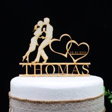 free shipping personalized wood mr mrs wedding cake topper wedding