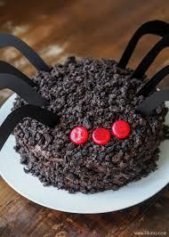 Dirt Cake Halloween by Chocolate Oreo Spider Cake Lil U0027 Luna