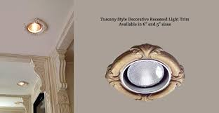 Decorative Recessed Light Trims