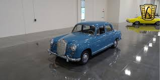 1959 mercedes benz 180 gateway classic cars 35
