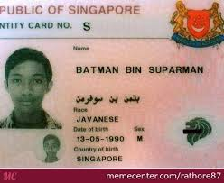 Singapore Meme - batman bin suparman jailed in singapore by rathore87 meme center