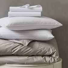 Bedding Set Organic Washed Cotton Bedding Set Slate West Elm