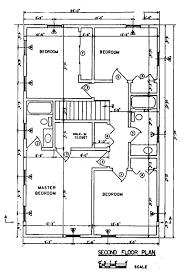 100 colonial floor plan 1930 dutch colonial floor plan