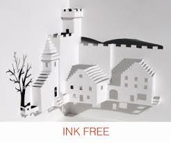 printable christmas pop up card templates make pop up cards pop up paper house paper toys diy printable