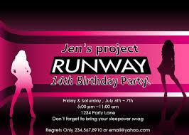 14th birthday party invitations fashion show party invitations mickey mouse invitations templates