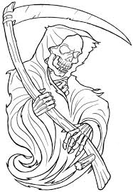 death grim reaper tattoo for men photos pictures and sketches