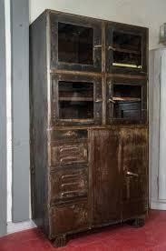Steel Storage Cabinets Vintage Industrial Metal Storage Cabinet Omero Home