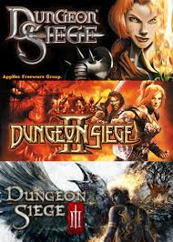 dungon siege dungeon siege i ii iii portable versions aio