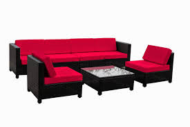 Patio Sectional Outdoor Furniture Red Outdoor Sectional Cushions U2013 Thedigitalhandshake Furniture