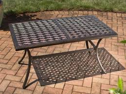 Diy Patio Coffee Table Stunning Patio Coffee Table Hampton Bay Belleville Tile Top Patio