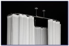 Oval Shower Curtain Rail Australia Oval Shower Curtain Rod Canada Curtain Home Design Ideas