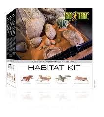 amazon com exo terra pt2600 desert habitat kit small pet